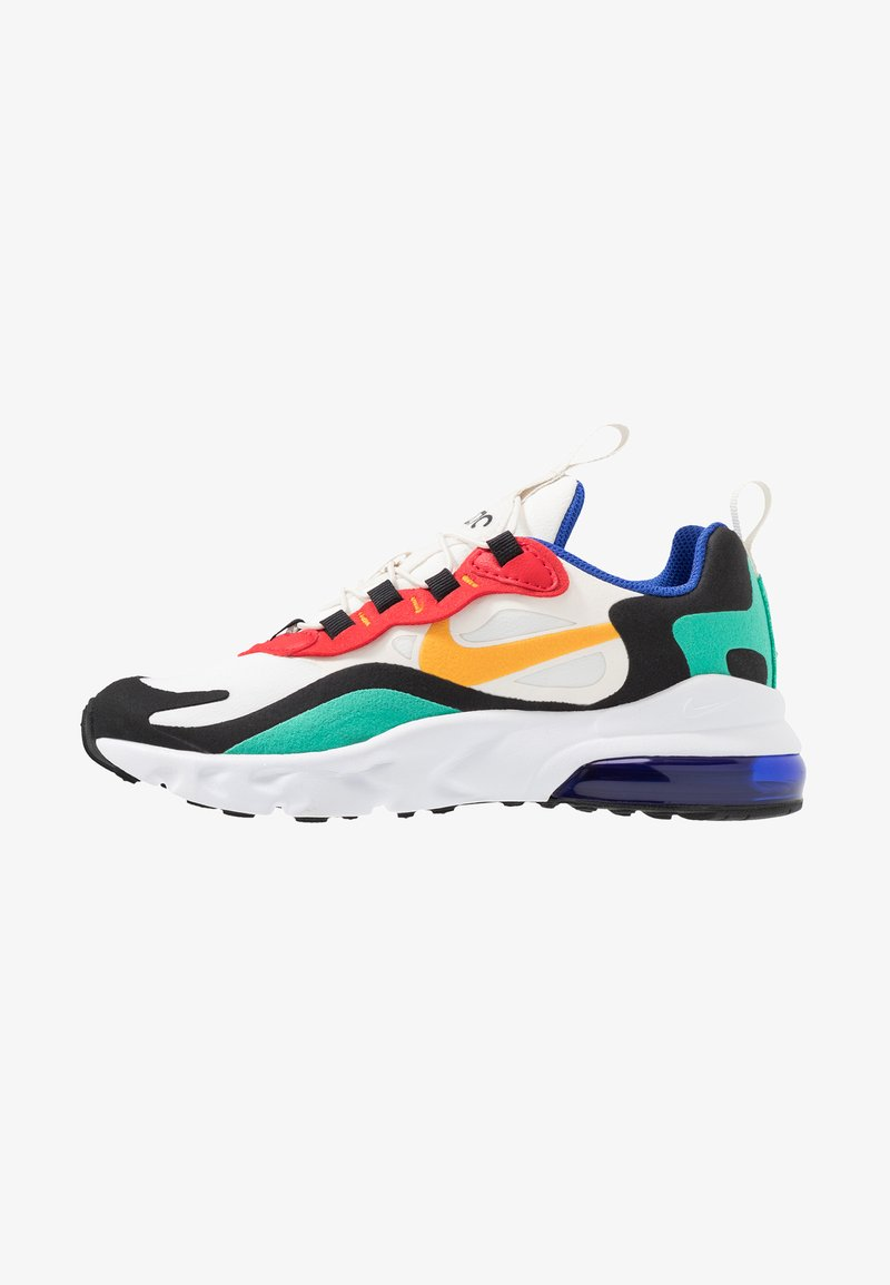 Nike Sportswear - AIR MAX 270 REACT - Mocassins - phantom/university gold/kinetic green/university red