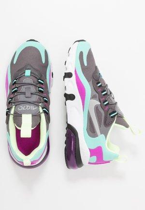 NIKE AIR MAX 270 RT BP - Sneakers laag - gunsmoke/reflect silver/aurora green/hyper violet