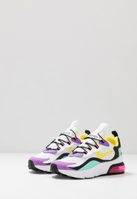 Nike Sportswear - AIR MAX 270 RT - Loafers - black/bicycle yellow/teal tint/violet star - 3