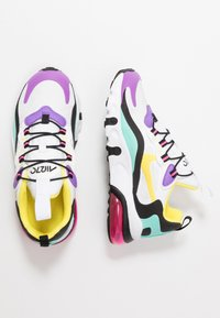 Nike Sportswear - AIR MAX 270 RT - Loafers - black/bicycle yellow/teal tint/violet star - 0