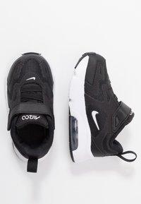Nike Sportswear - AIR MAX 200 - Tenisky - black/white - 0