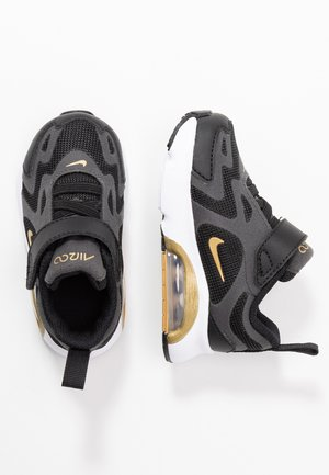 AIR MAX 200 - Sneakers basse - black/metallic gold/anthracite
