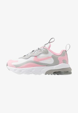 AIR MAX 270 RT - Sneaker low - white/pink/light smoke/grey/metallic silver