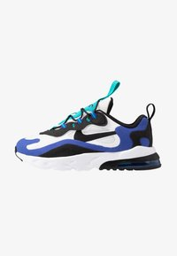 Nike Sportswear - AIR MAX 270 RT - Sneakersy niskie - white/black/hyper blue/oracle aqua - 1