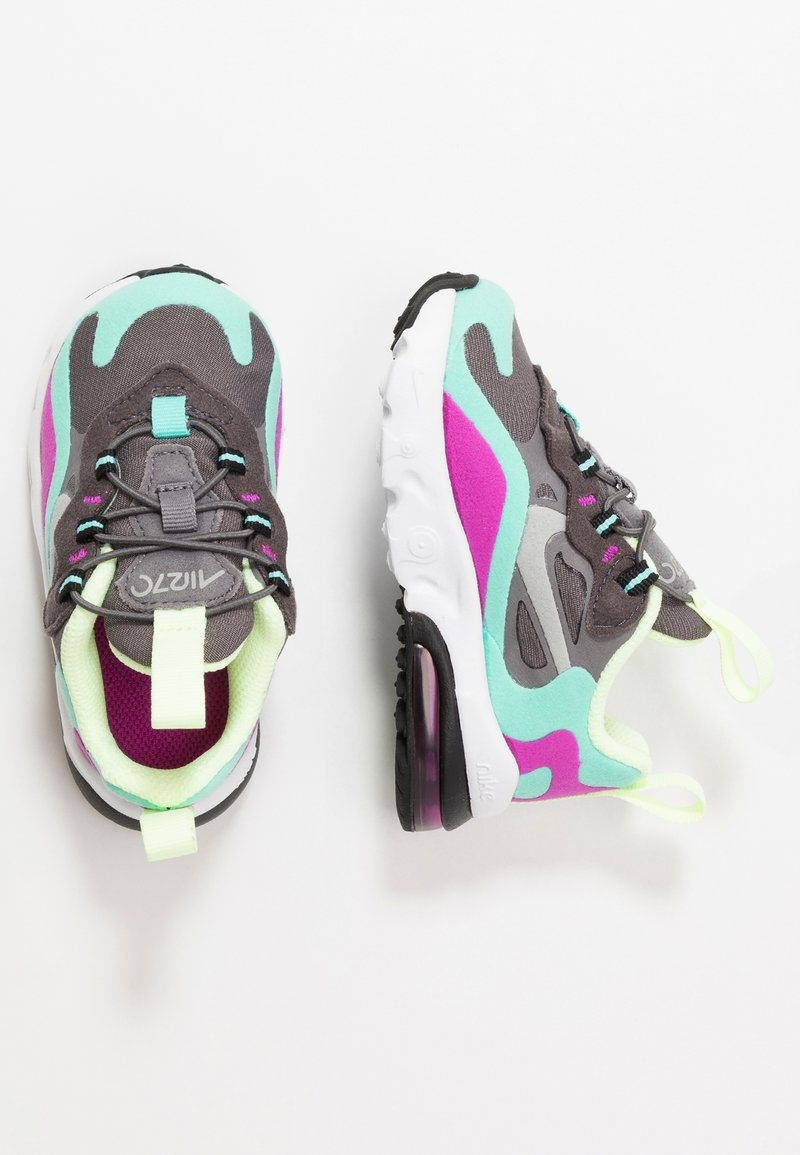 Nike Sportswear - AIR MAX 270 RT - Sneakers basse - gunsmoke/reflect silver/aurora green/hyper violet