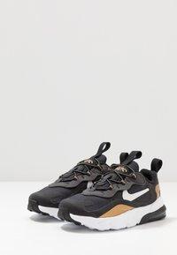 Nike Sportswear - AIR MAX 270 RT - Sneakers basse - black/bicycle yellow/teal tint/violet star - 3