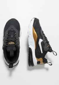 Nike Sportswear - AIR MAX 270 RT - Sneakers basse - black/bicycle yellow/teal tint/violet star - 0