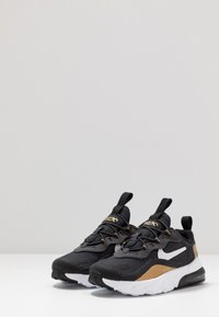 Nike Sportswear - AIR MAX 270 RT - Slippers - anthracite/white/black/metallic gold - 3