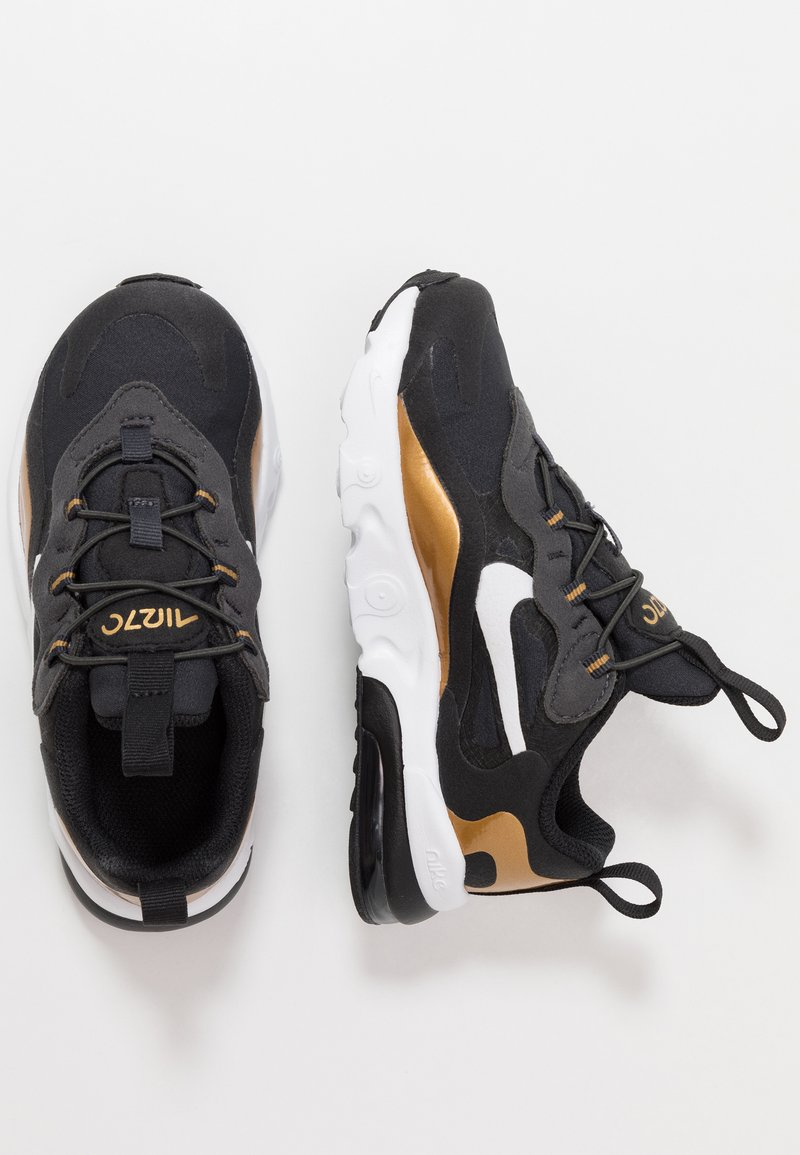 Nike Sportswear - AIR MAX 270 RT - Slippers - anthracite/white/black/metallic gold