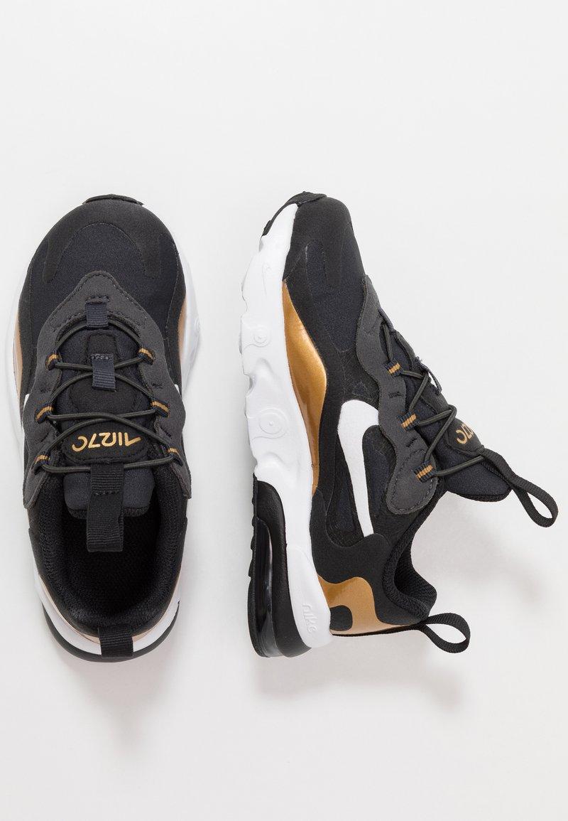 Nike Sportswear - AIR MAX 270 RT - Mocassins - anthracite/white/black/metallic gold