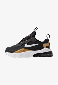 anthracite/white/black/metallic gold