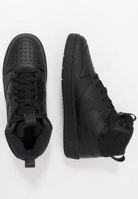 Nike Sportswear - COURT BOROUGH MID  - Vysoké tenisky - black - 0