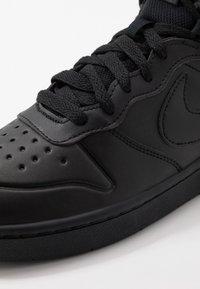 Nike Sportswear - COURT BOROUGH MID  - Vysoké tenisky - black - 2