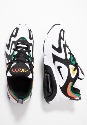 AIR MAX 200 - Sneakers laag - white/black/bright crimson/university gold