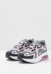 Nike Sportswear - AIR MAX 200 - Sneakers basse - off noir/iced lilac/smoke grey/white - 3