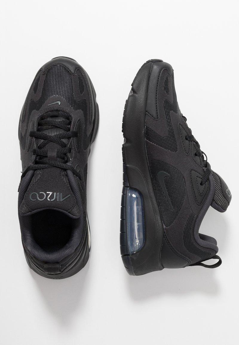 Nike Sportswear - AIR MAX 200 - Sneakers laag - black/anthracite