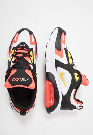 AIR MAX 200 - Baskets basses - black/chrome yellow/white/bright crimson