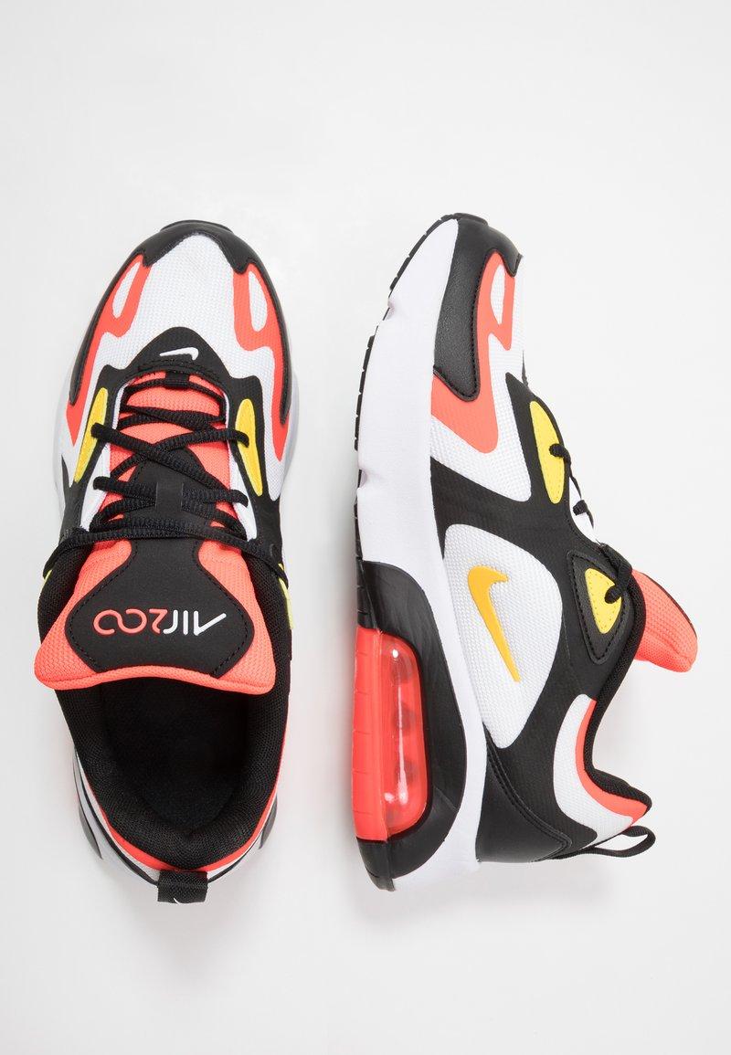 Nike Sportswear - AIR MAX 200 - Tenisky - black/chrome yellow/white/bright crimson