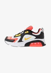 Nike Sportswear - AIR MAX 200 - Tenisky - black/chrome yellow/white/bright crimson - 1