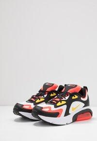 Nike Sportswear - AIR MAX 200 - Tenisky - black/chrome yellow/white/bright crimson - 3