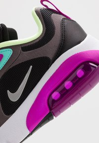 Nike Sportswear - AIR MAX 200 - Trainers - black/metallic silver/thunder grey/aurora green/hyper violet/barely volt - 2