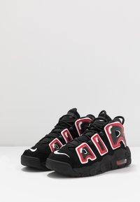 Nike Sportswear - UPTEMPO - Vysoké tenisky - black/white/laser crimson - 2