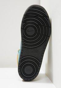 Nike Sportswear - High-top trainers - club gold/blue hero/kumquat/black - 5