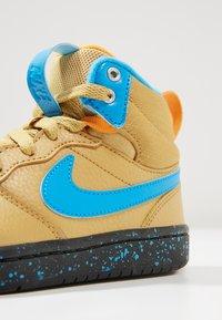 Nike Sportswear - High-top trainers - club gold/blue hero/kumquat/black - 2