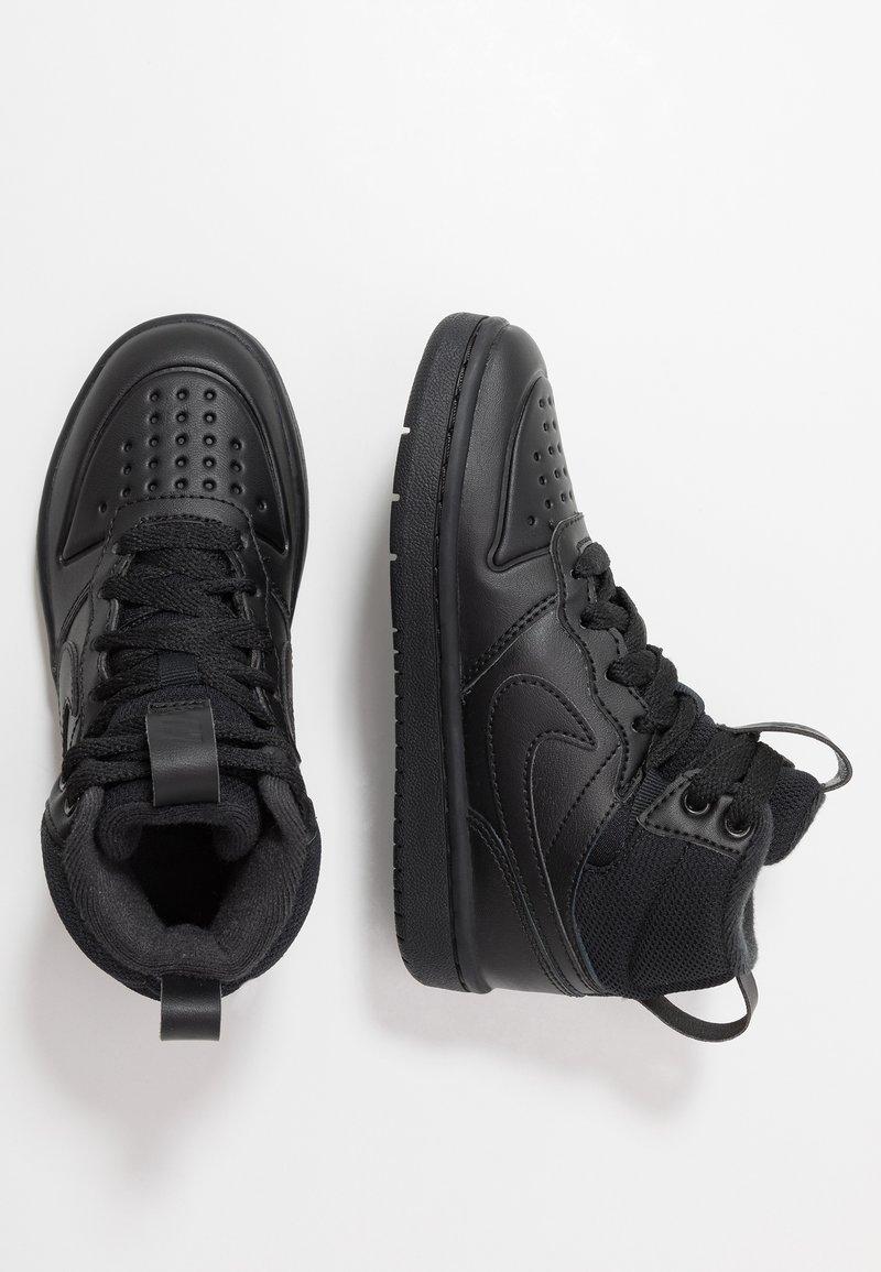 Nike Sportswear - COURT BOROUGH MID BOOT - Høye joggesko - black