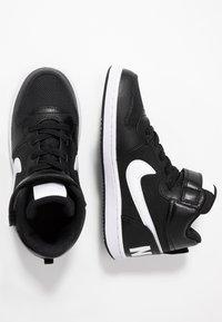 Nike Sportswear - COURT BOROUGH MID - Vysoké tenisky - black/white - 0
