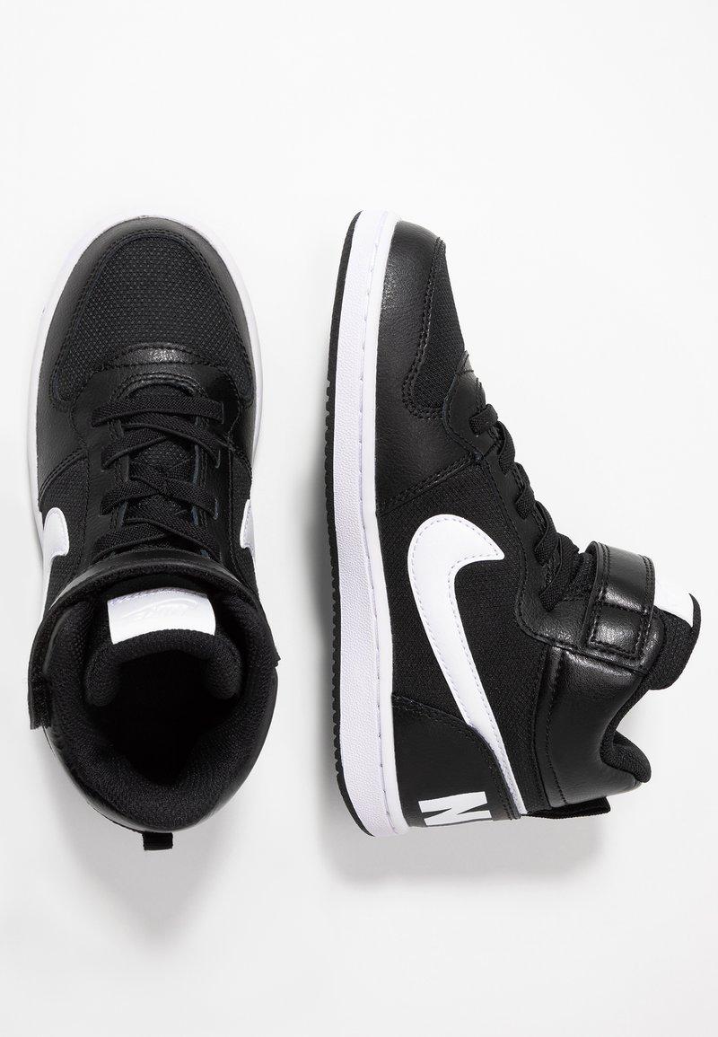 Nike Sportswear - COURT BOROUGH MID - Vysoké tenisky - black/white