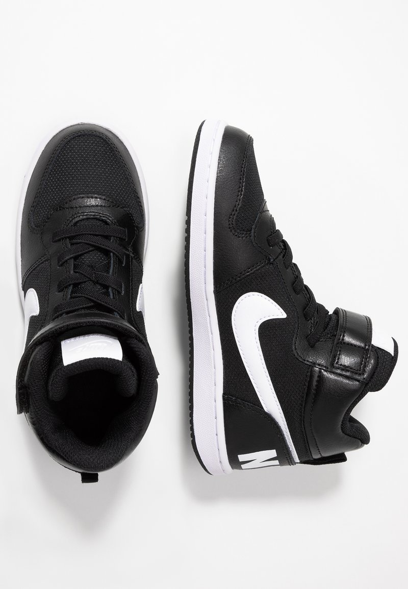 Nike Sportswear - COURT BOROUGH MID - Baskets montantes - black/white