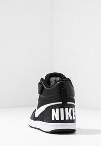 Nike Sportswear - COURT BOROUGH MID - Vysoké tenisky - black/white - 4