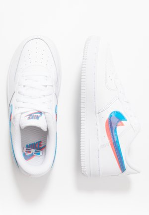 FORCE 1 LV8  - Baskets basses - white/blue hero/bright crimson