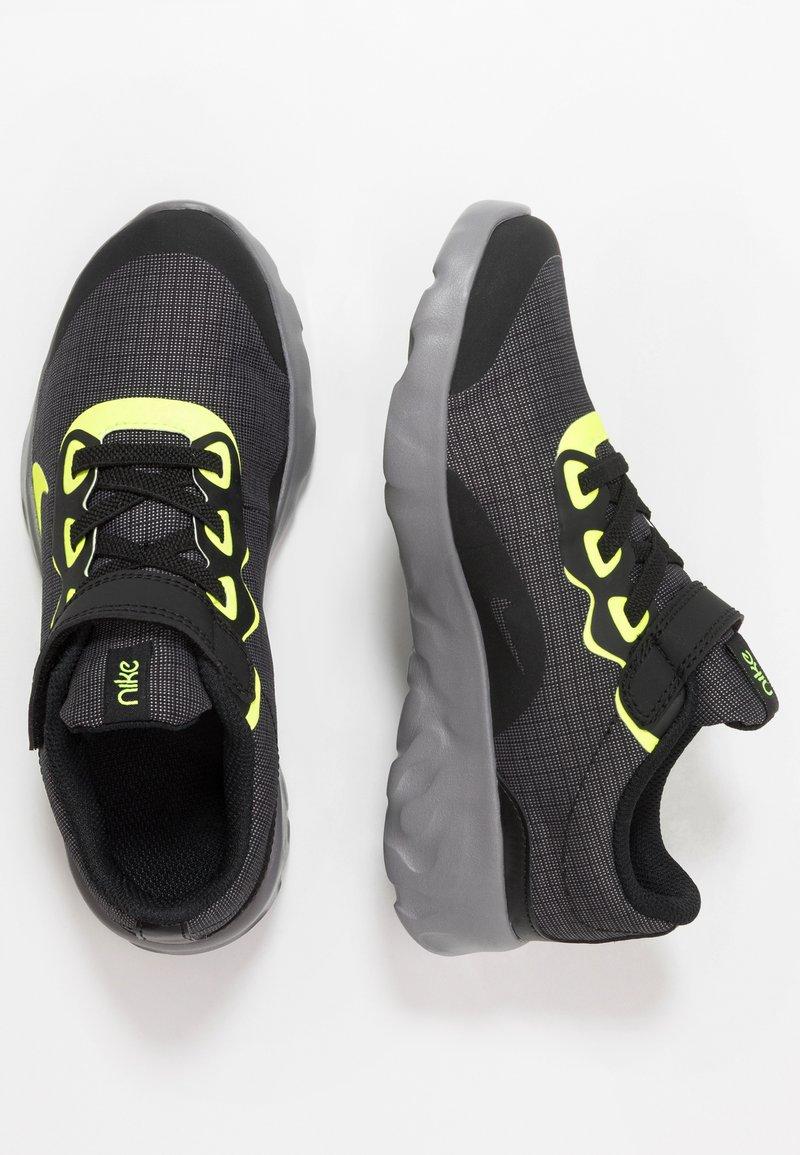 Nike Sportswear - EXPLORE STRADA - Trainers - black/volt/gunsmoke