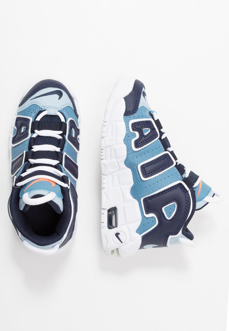 Nike Sportswear - AIR MORE UPTEMPO - Sneakers alte - blue