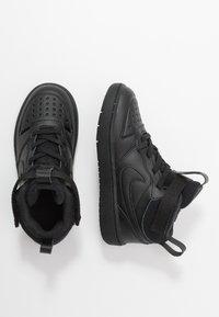 Nike Sportswear - COURT BOROUGH MID 2 BOOT - Baskets montantes - black - 0