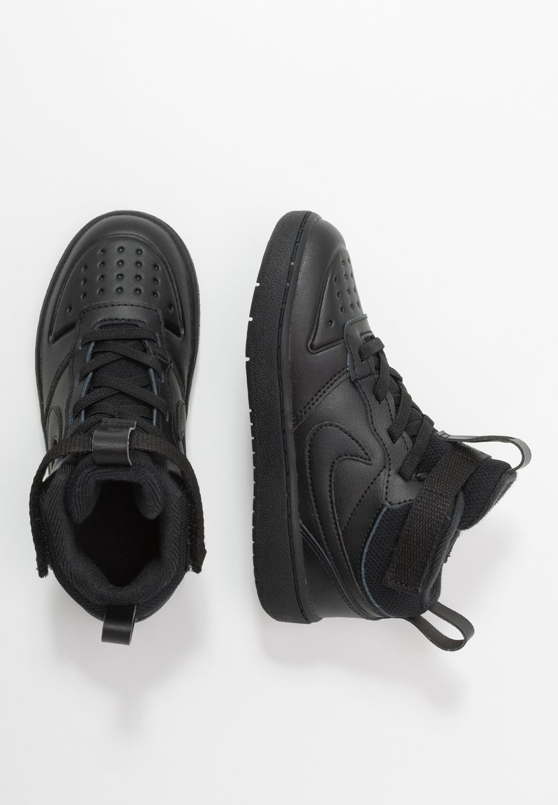 Nike Sportswear - COURT BOROUGH MID 2 BOOT - Baskets montantes - black
