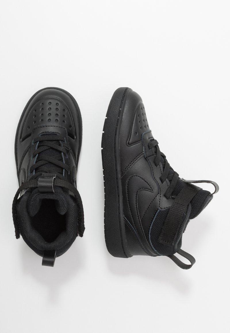 Nike Sportswear - COURT BOROUGH MID 2 BOOT - Sneakers hoog - black