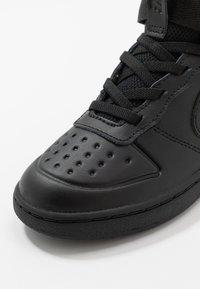 Nike Sportswear - COURT BOROUGH MID 2 BOOT - Baskets montantes - black - 2