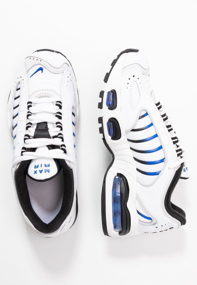 Nike Sportswear - AIR MAX TAILWIND - Sneakers basse - white/racer blue/summit white/vast grey/black