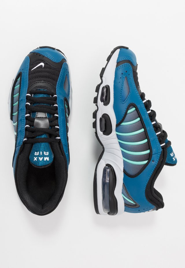 AIR MAX TAILWIND IV - Baskets basses - industrial blue/black/pure platinum/white