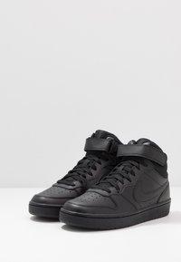 Nike Sportswear - COURT BOROUGH MID - Sneakers hoog - black - 3
