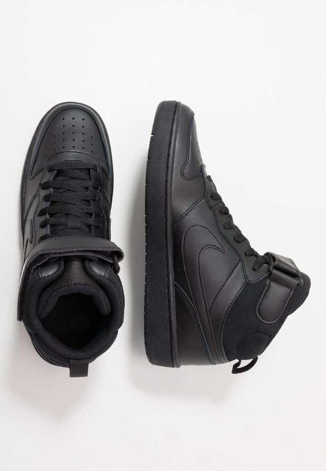 COURT BOROUGH MID - High-top trainers - black
