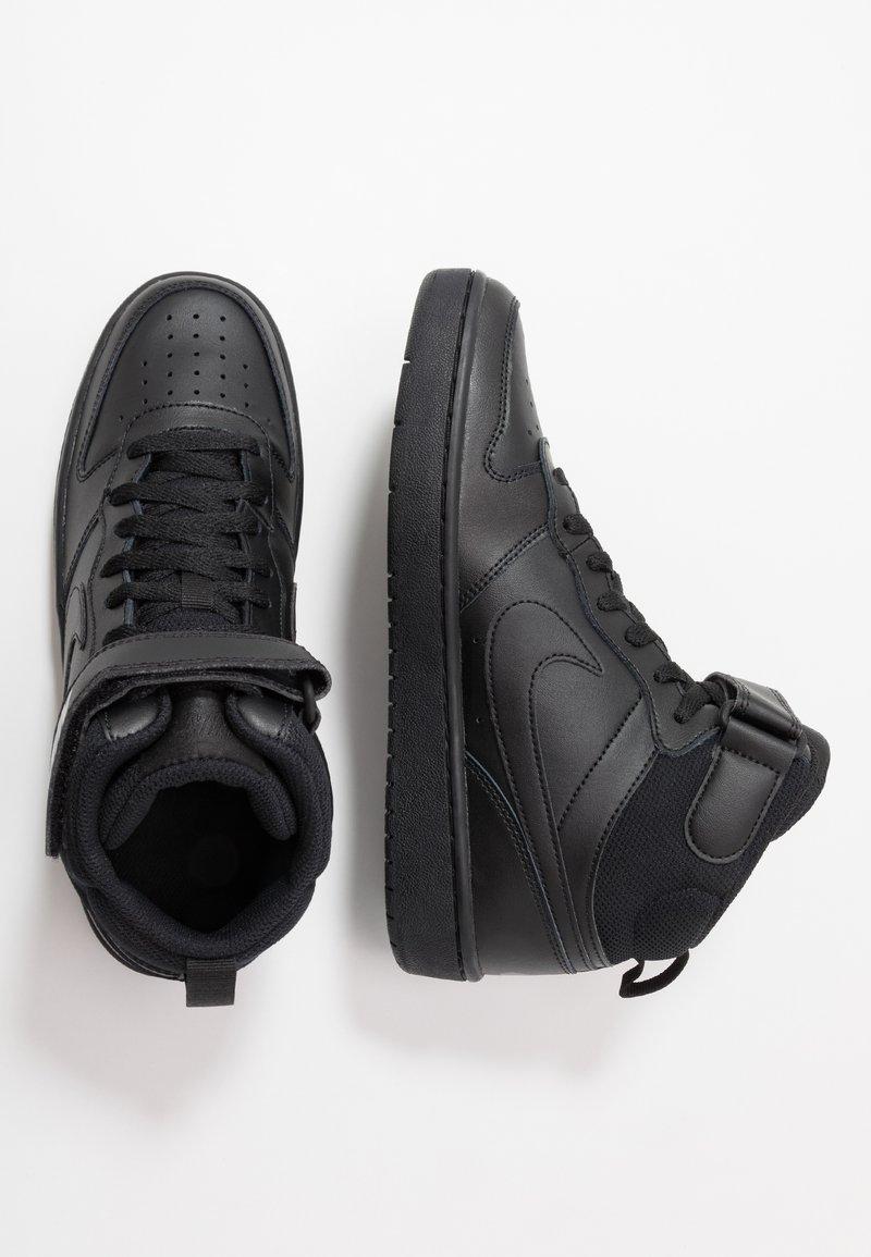 Nike Sportswear - COURT BOROUGH MID - Sneakers hoog - black