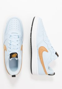 Nike Sportswear - COURT BOROUGH  - Sneakers - celestine blue/gold/black/white - 0