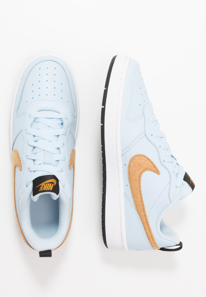 Nike Sportswear - COURT BOROUGH  - Sneakers - celestine blue/gold/black/white