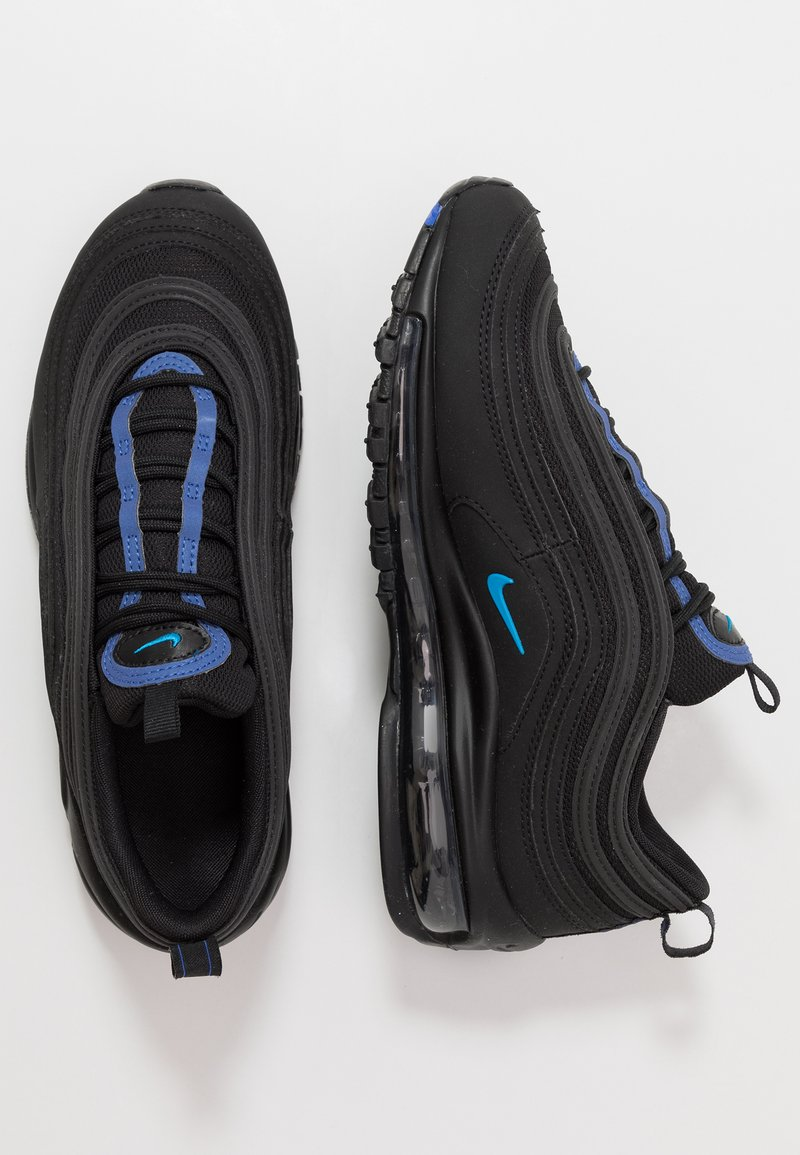 Nike Sportswear - AIR MAX 97 - Tenisky - black/blue hero/hyper royal
