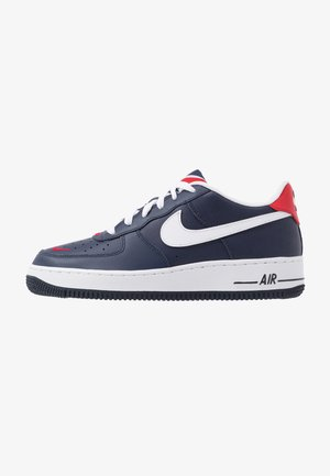AIR FORCE 1 - Sneakers - obsidian/white/university red
