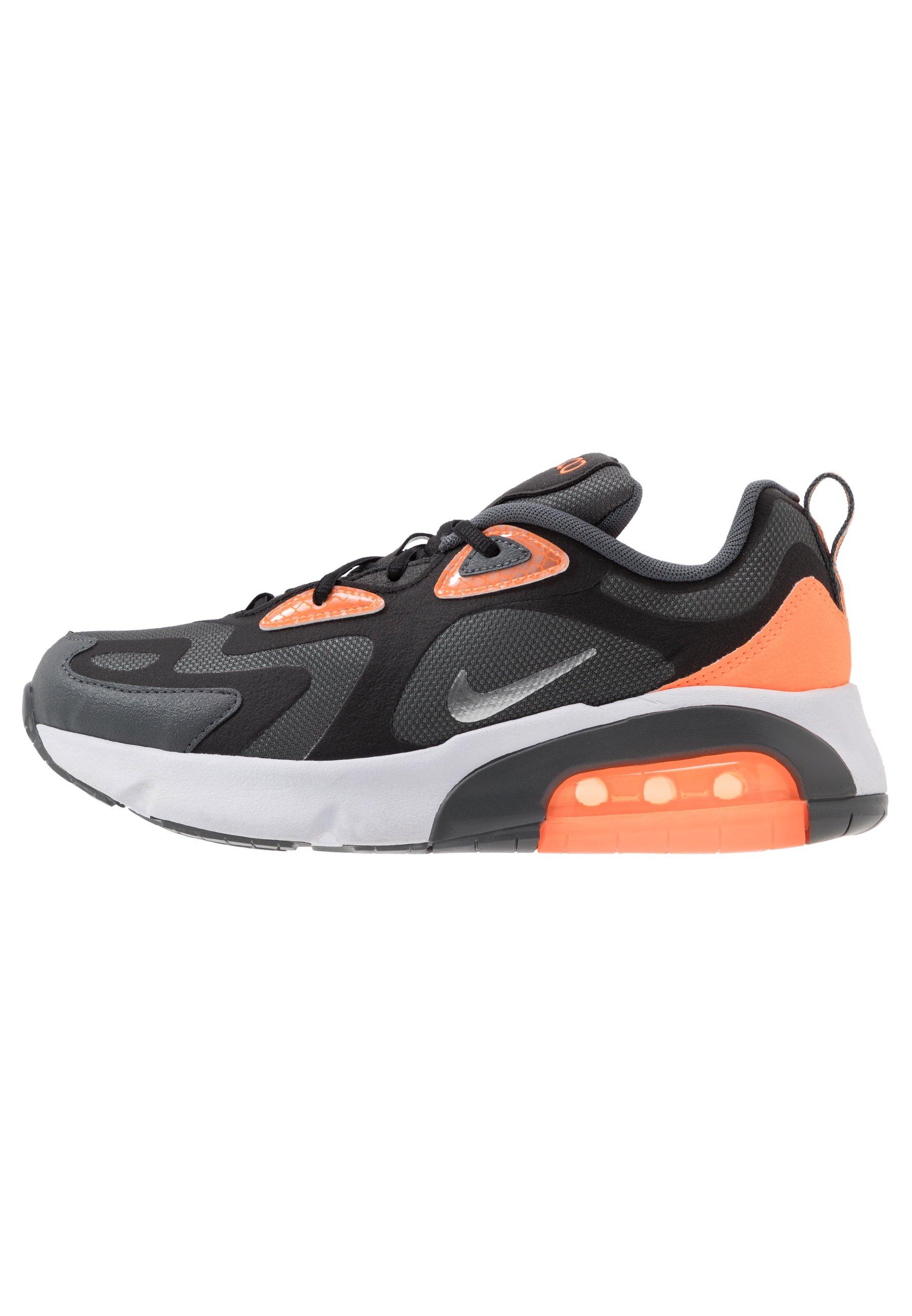 AIR MAX 200 WTR - Sneakers laag - dark grey/metallic silver/black/total  orange